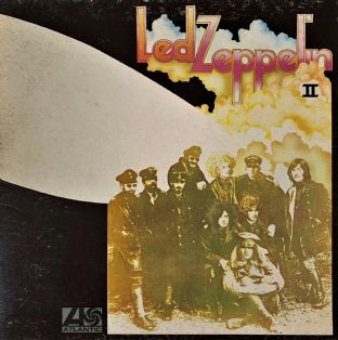 Led Zeppelin - Led Zeppelin II (LP) (VG/G-VG)